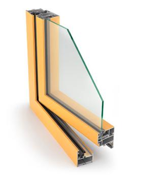 Alumīnija logi, Aluprof MB-45