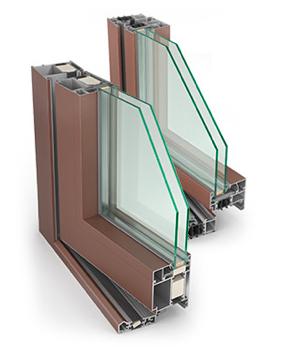 Alumīnija logi