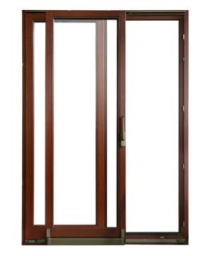 Koka durvju PSK sistēma